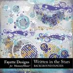 Written in the Stars Background Fancies-$1.40 (Fayette Designs)
