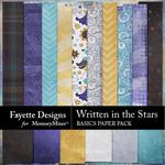Written in the Stars Basics Paper Pack-$3.99 (Fayette Designs)