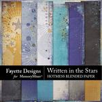Written in the Stars Hotmess Blended Paper Pack-$3.99 (Fayette Designs)
