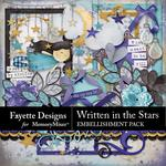 Written in the Stars Embellishment Pack-$3.49 (Fayette Designs)