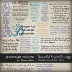 Beautiful Spirits Emerge WordArt-$3.99 (Jumpstart Designs)