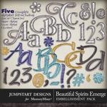 Beautiful Spirits Emerge Alphabet Pack-$3.49 (Jumpstart Designs)