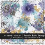 Beautiful Spirits Emerge Accents Pack-$2.49 (Jumpstart Designs)