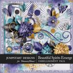 Beautiful Spirits Emerge Add On Embellishment Pack-$3.99 (Jumpstart Designs)