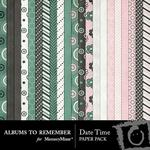 Date Time Paper Pack-$3.99 (Albums to Remember)