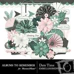 Date Time Embellishment Pack-$3.49 (Albums to Remember)