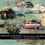 Friends Across the Miles Paint Scatters Pack-$2.49 (Laura Burger)