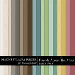 Friends Across the Miles Solids Paper Pack-$3.49 (Laura Burger)