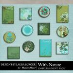 With Nature Flairs Pack-$2.49 (Laura Burger)