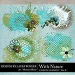 With Nature Grunge Scatters Pack-$2.49 (Laura Burger)