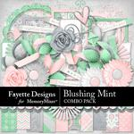 Blushing Mint Combo Pack-$6.99 (Fayette Designs)
