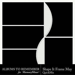 Shape it frame may p001 medium