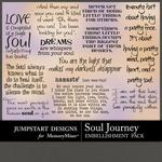 Soul Journey WordArt Pack-$2.49 (Jumpstart Designs)