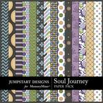 Soul Journey Patterned Paper Pack-$3.99 (Jumpstart Designs)