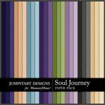 Soul Journey Plain Paper Pack-$3.49 (Jumpstart Designs)