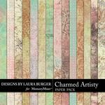Charmed Artistry Grunge Paper Pack-$3.49 (Laura Burger)