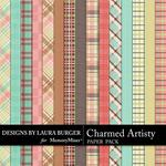 Charmed Artistry Plaid Paper Pack-$3.49 (Laura Burger)