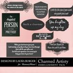 Charmed Artistry WordArt Pack-$2.49 (Laura Burger)