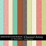 Charmed Artistry Embossed Paper Pack-$3.49 (Laura Burger)
