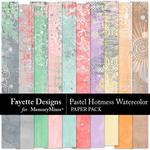 Pastel Hotmess Watercolor Paper Pack-$3.99 (Fayette Designs)