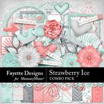 Strawberry Ice Combo Pack-$4.99 (Fayette Designs)