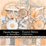 Toasted Melon Combo Pack-$6.99 (Fayette Designs)