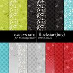 Rockstar Boy Extra Paper Pack-$3.49 (Carolyn Kite)
