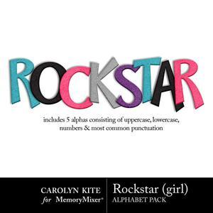 Crk rockstar girl alphas medium