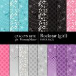 Rockstar Girl Extra Paper Pack-$3.49 (Carolyn Kite)