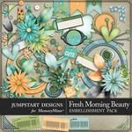 Fresh Morning Beauty Add On Embellishment Pack-$2.99 (Jumpstart Designs)