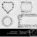 Tattered Love Stamps-$2.00 (Bevin Dunn)
