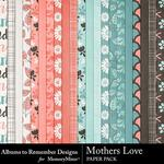 Mothers Love ATR Paper Pack-$2.80 (Albums to Remember)