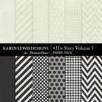 His Story Paper Pack 3-$3.99 (Karen Lewis)
