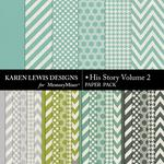 His Story Paper Pack 2-$3.99 (Karen Lewis)
