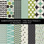 His Story Paper Pack 1-$3.99 (Karen Lewis)
