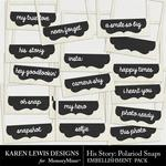 His Story Polariod Snaps Pack-$1.99 (Karen Lewis)