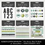 His Story Bits N Bobs Pack-$2.99 (Karen Lewis)
