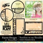 Sunshine on my Shoulder Fancy Frames-$3.99 (Fayette Designs)