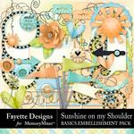 Sunshine on my Shoulder Basics Emb Pack-$3.99 (Fayette Designs)