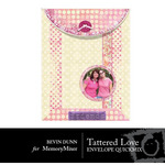 Tattered Love Envelope QuickMix-$1.50 (Bevin Dunn)