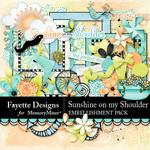 Sunshine on my Shoulder Emb Pack-$3.99 (Fayette Designs)
