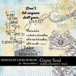 Gypsy Soul WordArt Pack-$2.49 (Laura Burger)