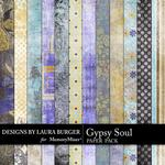 Gypsy Soul Grunge Paper Pack-$3.49 (Laura Burger)