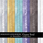 Gypsy Soul Solid Paper Pack-$3.49 (Laura Burger)