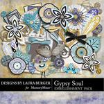Gypsy Soul Embellishment Pack-$2.49 (Laura Burger)