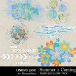 Summer is Coming Scatterz Pack-$1.40 (Lindsay Jane)