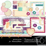 Tattered Love Embellishment Pack-$3.50 (Bevin Dunn)