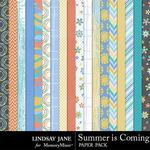 Summer is Coming Paper Pack-$1.75 (Lindsay Jane)