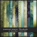 Brookside Blended Paper Pack-$2.45 (Jumpstart Designs)