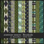 Brookside Patterned Paper Pack-$3.99 (Jumpstart Designs)